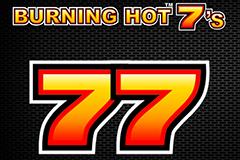 Игровой автомат на деньги Burning Hot 7's
